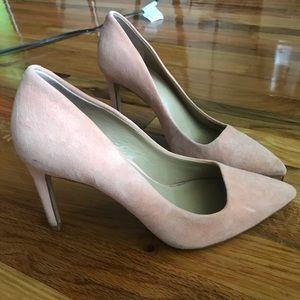 Light Pink/Peach Heels Ann Taylor